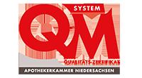 QM System Qualitäts-Zertifikat